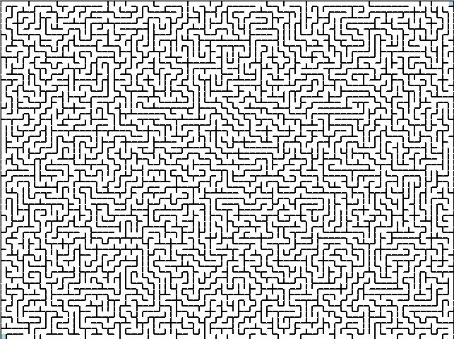 Free Coloring Pages Of Complicated Maze