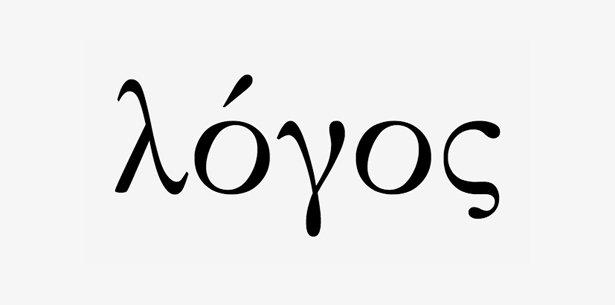 cara membaca logo dalam bahasa Yunani