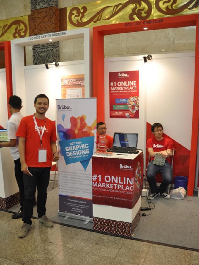 Booth Sribu.com