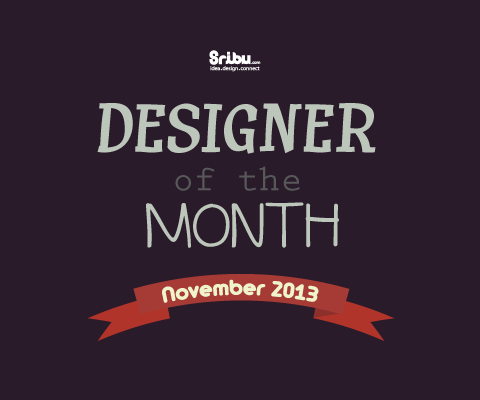 Designer of the Month - November 2013