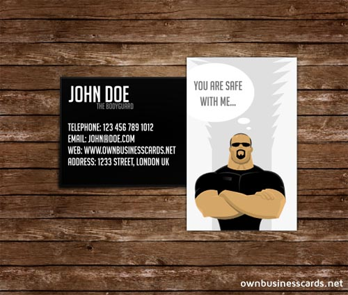 bodyguard-business-cards