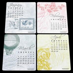 2013_Desk_Calendar_With_Vintage_Artwork