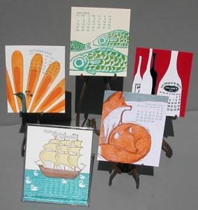 2013_Letterpress_and_Silkscreen_Calendar
