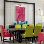 Aplikasi Warna Terang pada Desain Bergaya Kontemporer