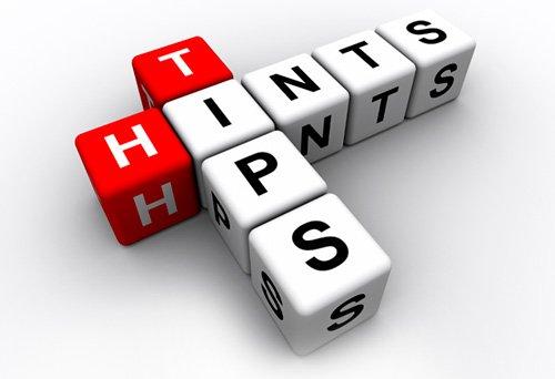 Hints-tips