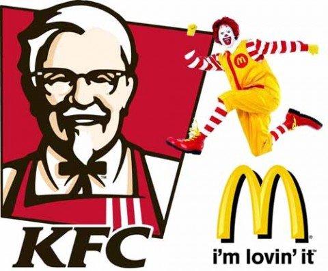 Mcdonalds-KFC