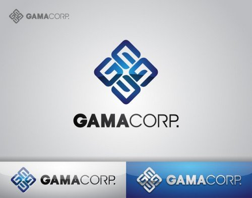 shandysven - desain logo untuk gama corp