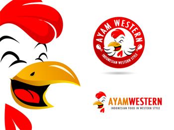 Logo untuk Ayam Western