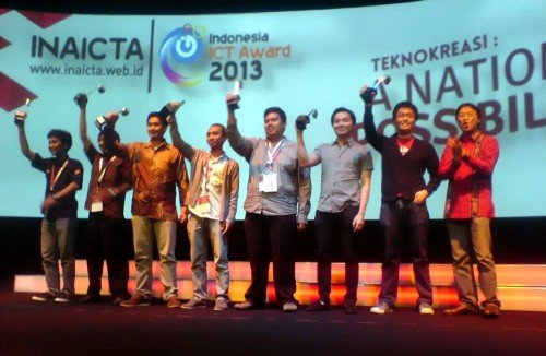 Sribu as one of the Winner of Inaicta 2013