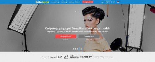 Homepage Sribulancer