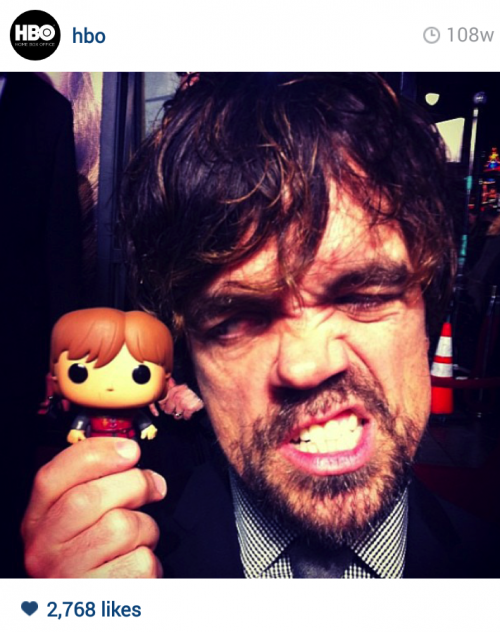 Is there any other place where can you find Peter Dinklage making this face?