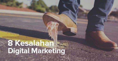 Kesalahan Digital Marketing