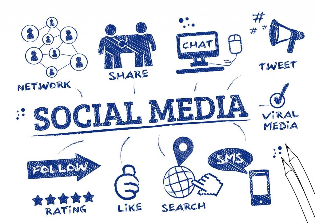 Social Media Scribble 2