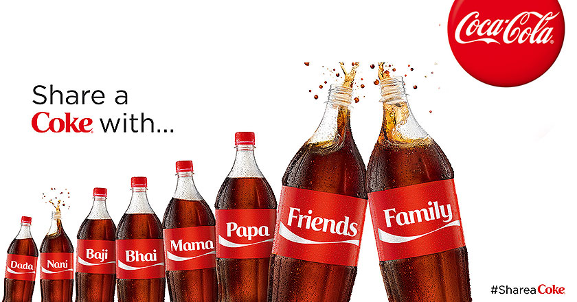 coke personalized packaging