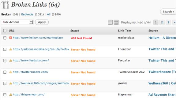 Broken-Links-Checker-Output