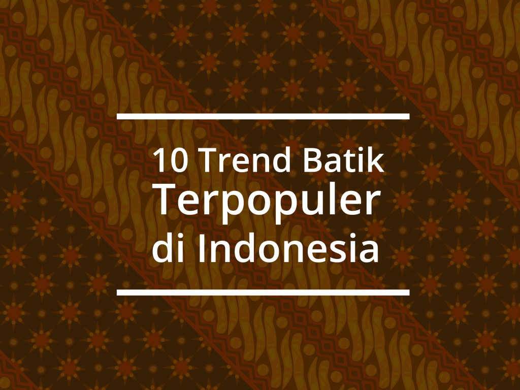 batik sribu
