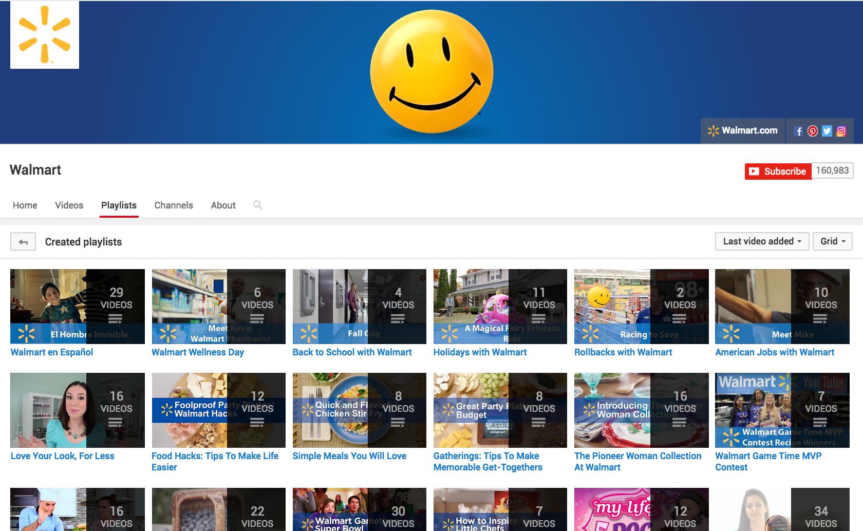 Walmart Youtube