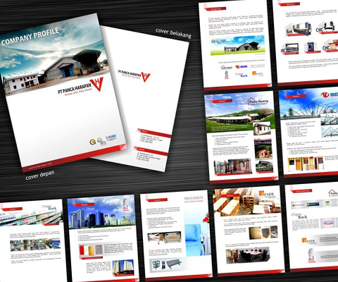 Desain Company Profile Panca Harapan