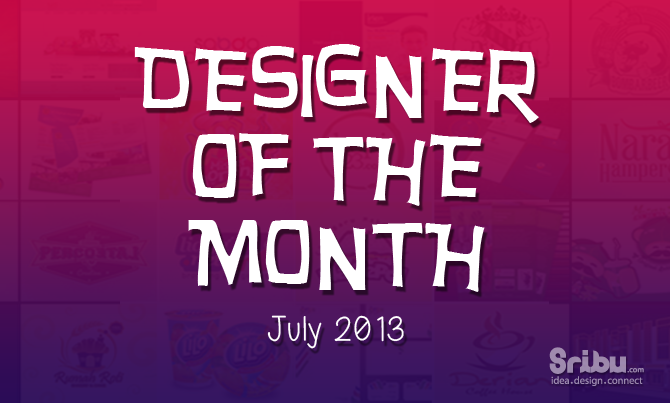 Designer of the Month - July 2013