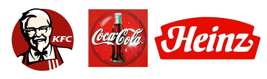 Trik Psikologi Warna pada Desain Logo - Merah