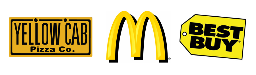 Trik Psikologi Warna pada Desain Logo - Kuning