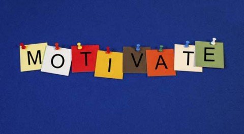 Motivate - sign series for business / mentoring.