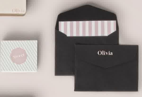 10 contoh desain kartu undangan paling keren blog sribu desain ini sama seperti nomor 1 hanya saja bedanya kartu undangan berada di dalam amplop hitam yang harus kamu buka stopboris Image collections