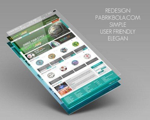 awee prasetya - redesain website untuk pabrikboladotcom