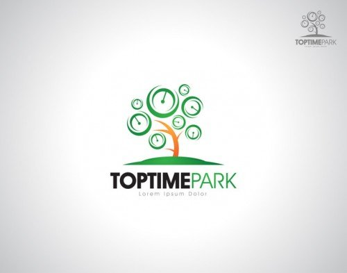 shandysven - logo design for top time park