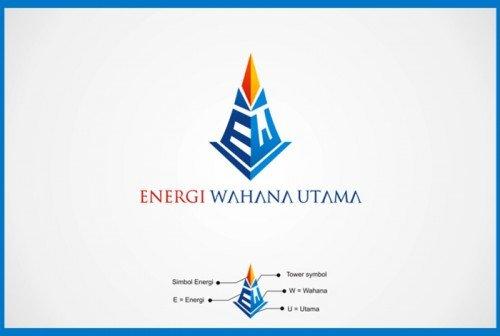 warna - logo untuk perusahaan kontraktor telekomunikasi