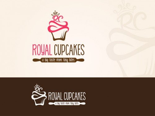 Royal Cupcakes Logo - by YORRA 2 (revised)