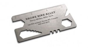 Bike Multi - Tool Business Card