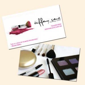 Hair & Make-up Artist Business Card