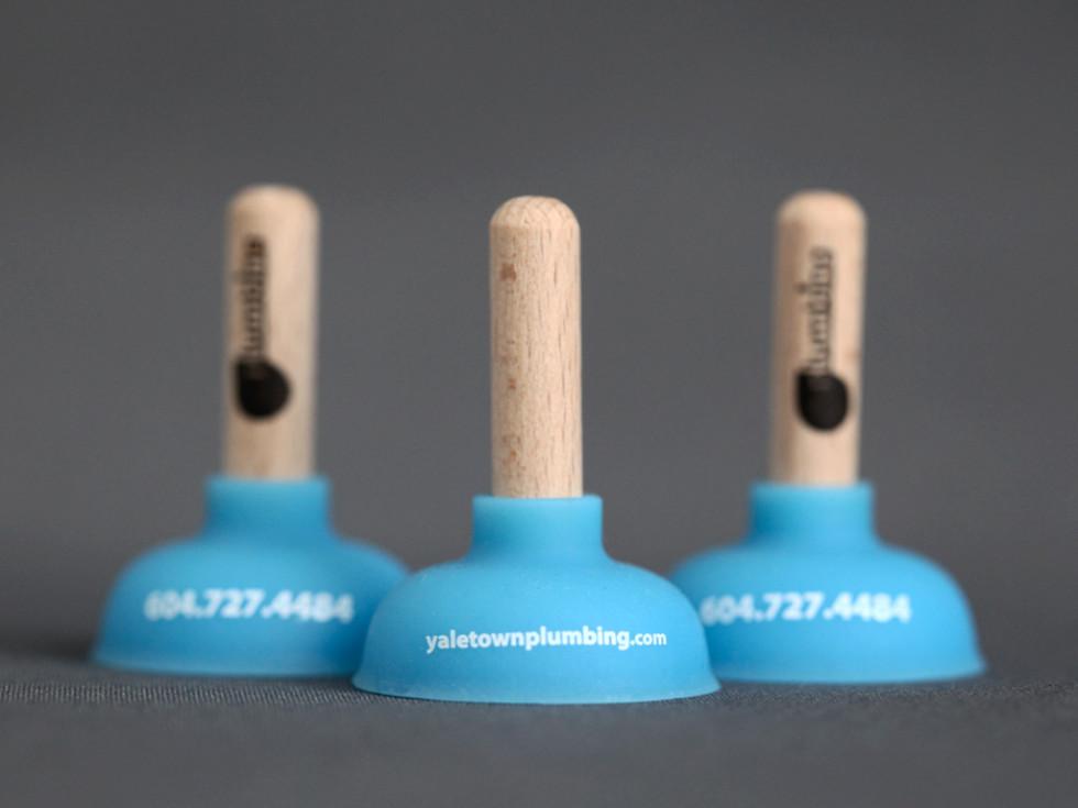 Miniature Plumber's Plunger