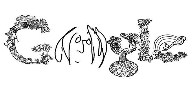 Google Doodle John Lennon