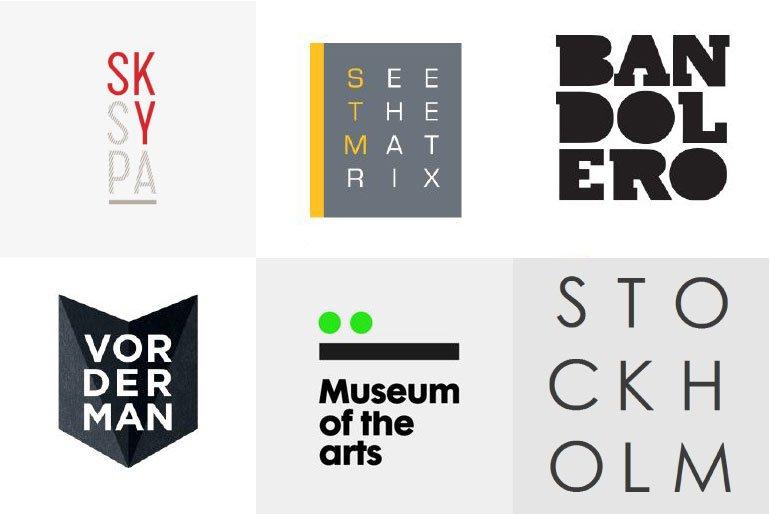 Letter Stacking Logo