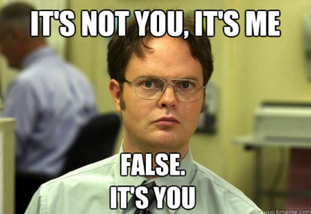 your fault meme