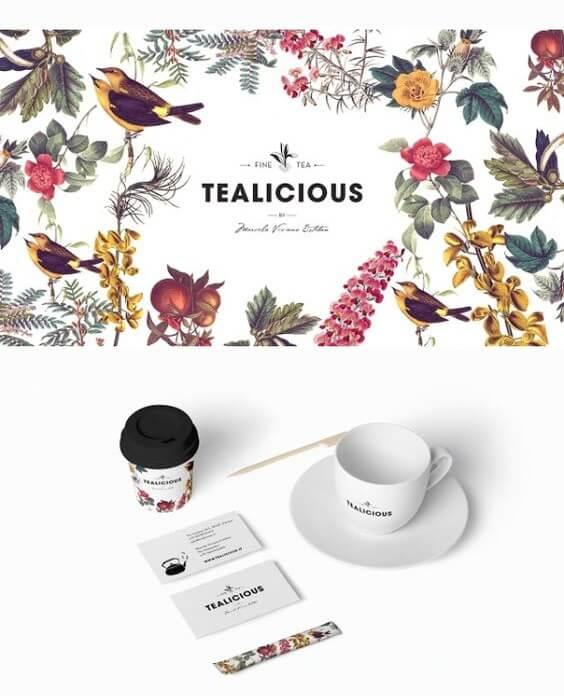 brand tealicious identity tag