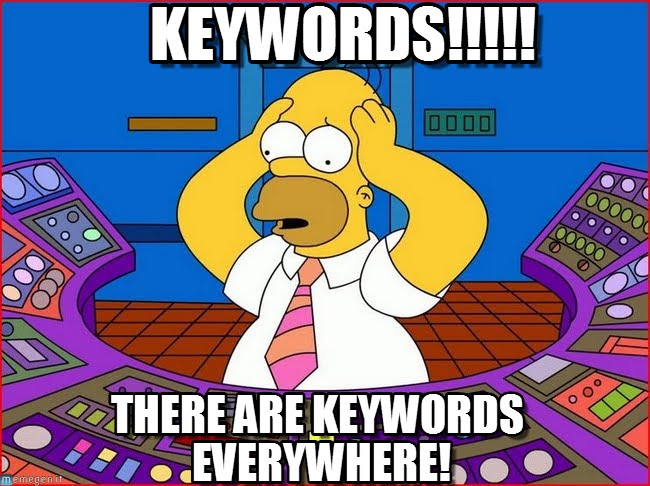 Keywords-meme