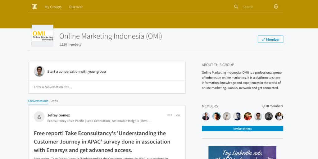 Online Marketing Group LinkedIn