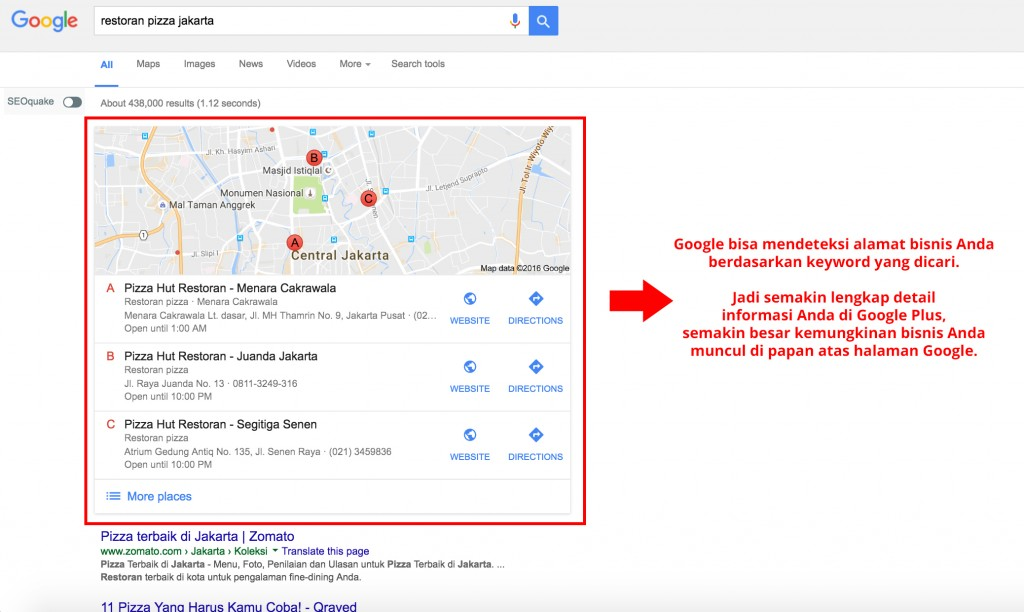 Google Plus benefits
