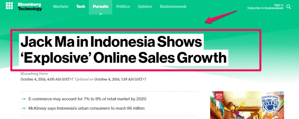 Cara Bisnis Online: Explosive Online Sales Growth