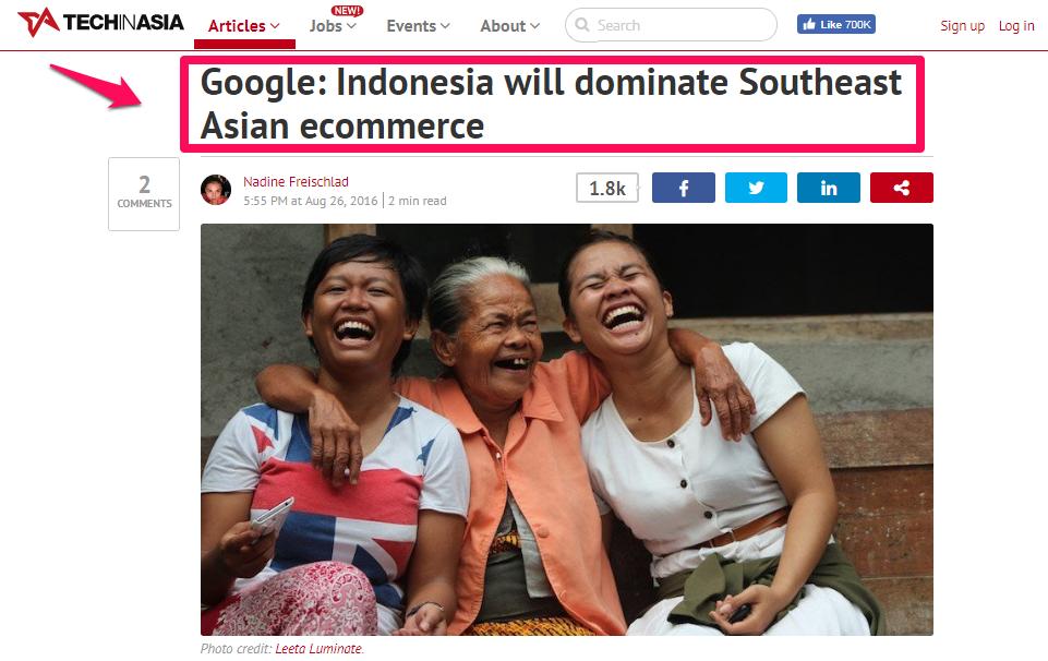 Cara Bisnis Online: Revolusi Digital: Bukti Indonesia dominasi market SEA