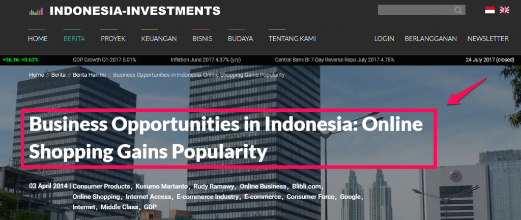 Cara Bisnis Online: Opportunity in Indonesia