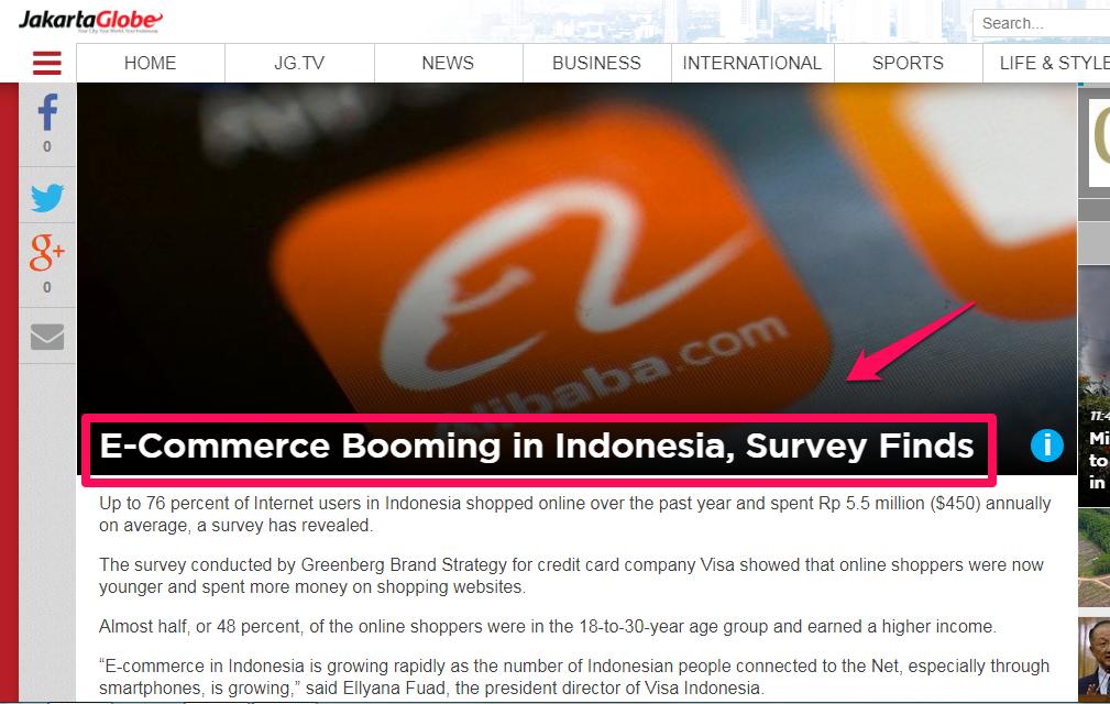 Cara Bisnis Online: Ecommerce Booming