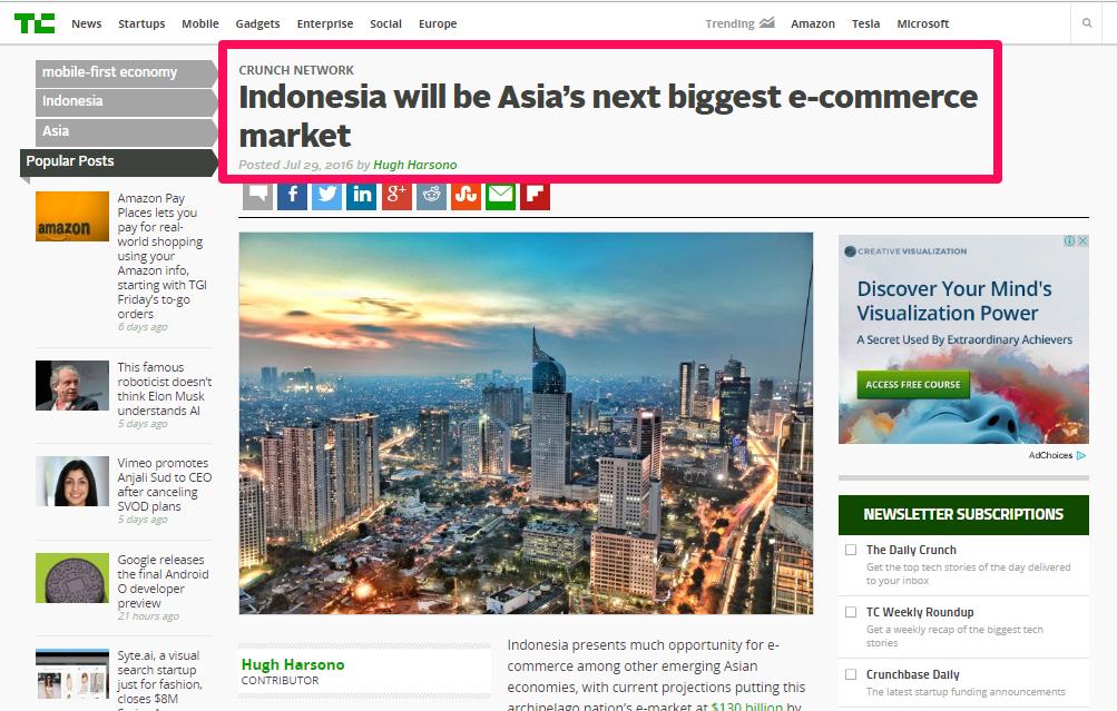 Cara Bisnis Online: Indonesia Next Ecommerce