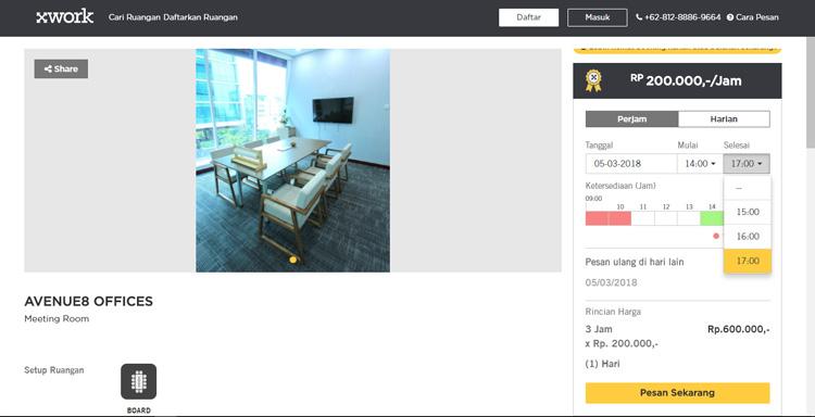 pilih sewa ruang meeting yang kalian mau