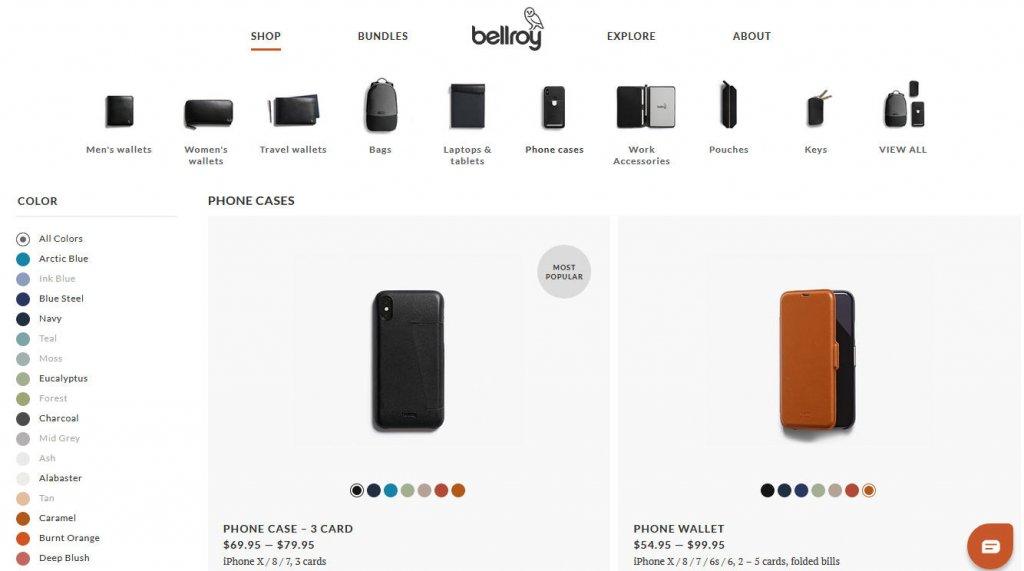 contoh desain website keren