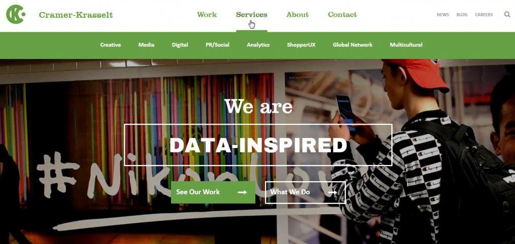 navigasi website perusahaan