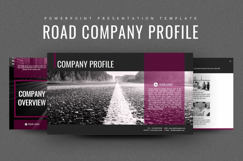 Web company profile